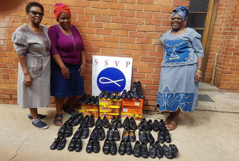school shoes donated