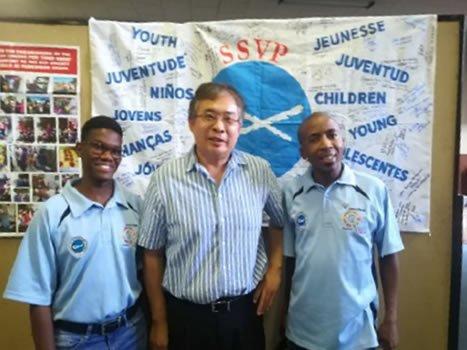 Kimberley President, Brother Malcolm Wong Fatt