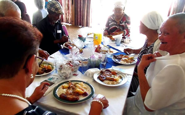 Christmas lunch for the poor and needy